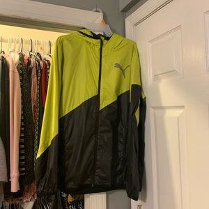 Men's puma windbreaker